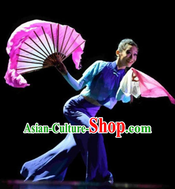Chinese Traditional Folk Dance Yangko Costume Classical Dance Clothing for Women