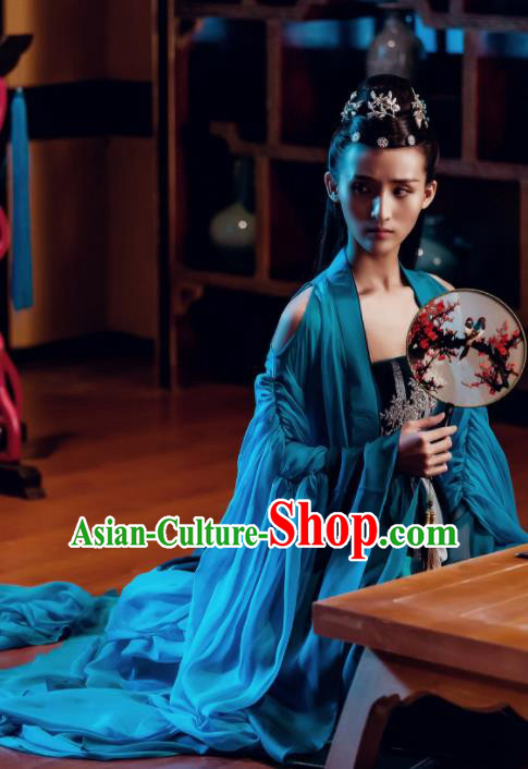 Traditional Chinese Ancient Fairy Hanfu Dress Palace Dancer Costume for Women
