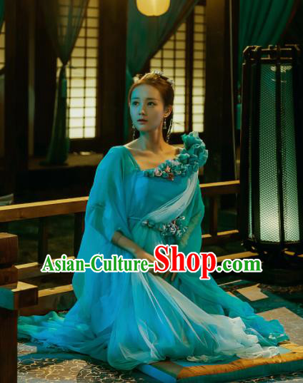 Chinese Ancient Palace Princess Hanfu Dress Peri Ancient Costumes for Women