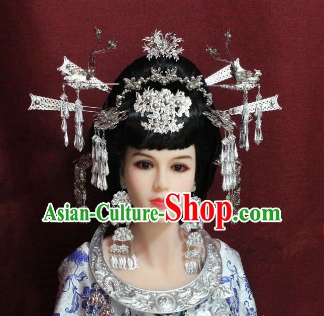 Chinese Handmade Hairpins Ancient Queen Hair Accessories for Women
