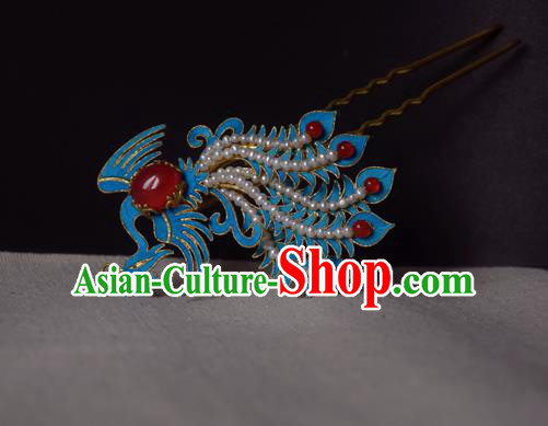 Chinese Handmade Princess Hanfu Phoenix Hair Clip Hairpins Ancient Hair Accessories for Women