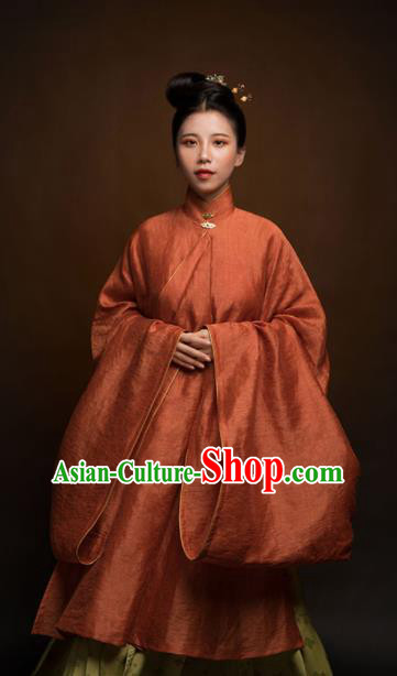 Top Grade Chinese Ancient Ming Dynasty Princess Hanfu Dress Clothing for Women