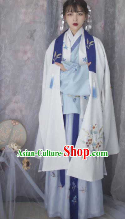 Chinese Ancient Princess Costumes Traditional Ming Dynasty Hanfu Dress for Women