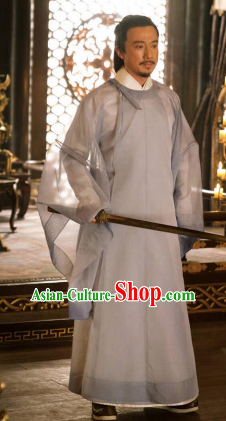 Ancient Chinese The Rise of Phoenixes Tang Dynasty Cabinet Minister Costumes for Men