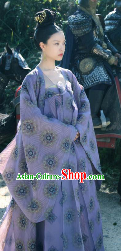 Ancient Chinese Tang Dynasty Princess Consort Hanfu Dress The Rise of Phoenixes Palace Lady Costumes for Women