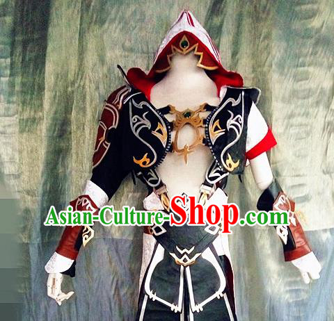Asian Chinese Cosplay Costume Ancient Swordsman Clothing for Men