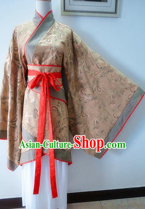 Traditional Chinese Han Dynasty Imperial Consort Hanfu Dress Ancient Princess Costume for Women