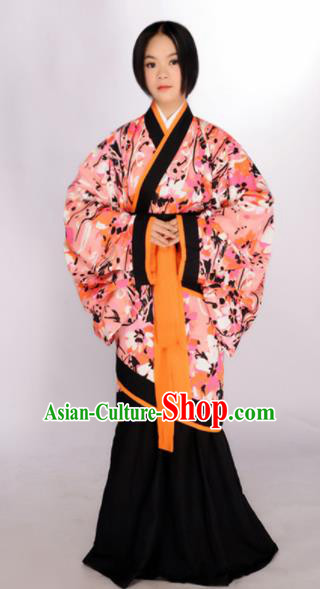 Asian Chinese Han Dynasty Maidenform Hanfu Dress Ancient Traditional Peri Costume for Women