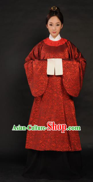 Asian Chinese Ming Dynasty Hanfu Dress Ancient Traditional Royal Countess Costumes for Women