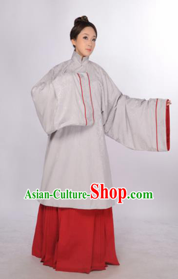 Asian Chinese Ming Dynasty Imperial Consort Hanfu Dress Ancient Traditional Royal Countess Costumes for Women