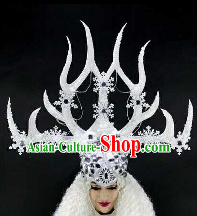Professional Stage Performance Hair Accessories Brazilian Carnival Headwear for Women