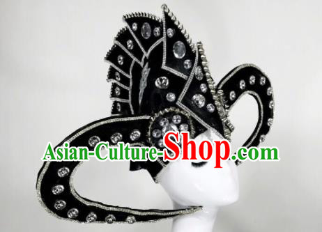 Professional Stage Performance Hair Accessories Brazilian Carnival Headwear for Men