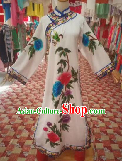 Chinese Traditional Beijing Opera Qing Dynasty Imperial Consort Dress Peking Opera Diva Costume for Adults