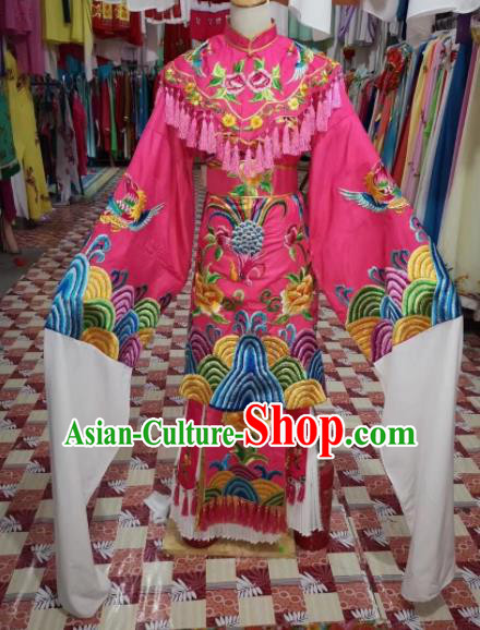 Chinese Traditional Beijing Opera Actress Hanfu Dress Peking Opera Imperial Consort Costume for Adults