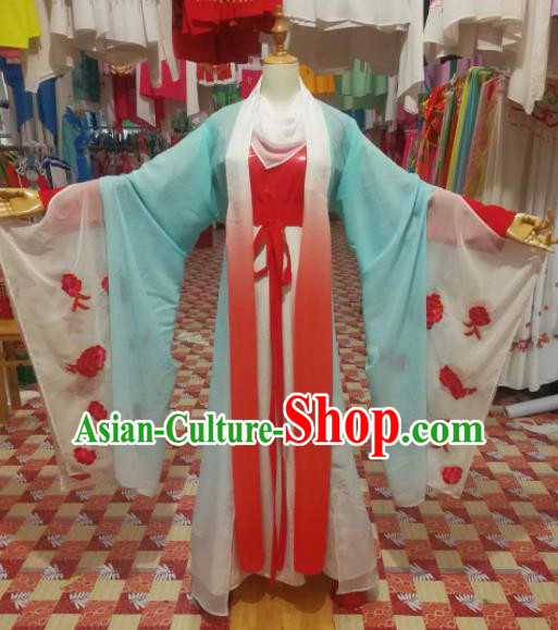 Chinese Traditional Beijing Opera Young Lady Clothing Peking Opera Diva Costume for Adults