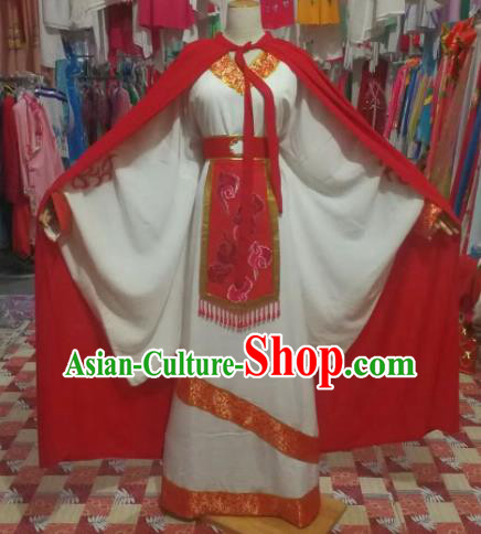 Chinese Traditional Beijing Opera Scholar Costume Peking Opera Prince Embroidered Robe for Adults