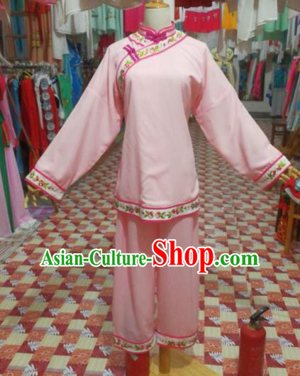 Chinese Traditional Beijing Opera Actress Costume for Poor Women