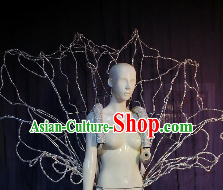 Top Brazilian Carnival Parade Prop Halloween Cosplay Stage Show Accessories Wings for Women