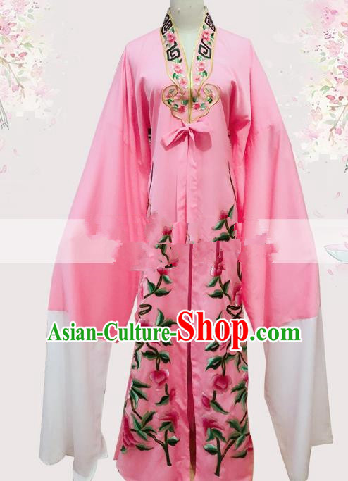 Professional Chinese Traditional Beijing Opera Niche Pink Cloak Ancient Nobility Childe Costume for Men