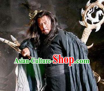 Chinese Ancient Emperor Fuxi Mythlegend Father God First Ancestor Fuxi Shi Tai Hao Costumes Complete Set