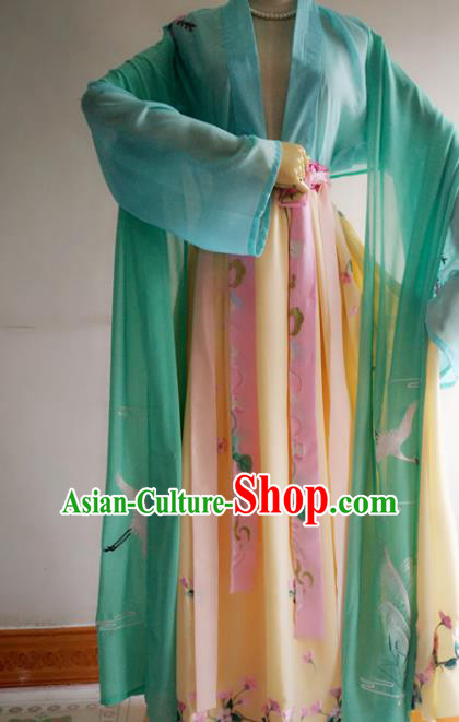 Chinese Traditional Cosplay Swordswoman Costume Ancient Female Knight Hanfu Dress for Women