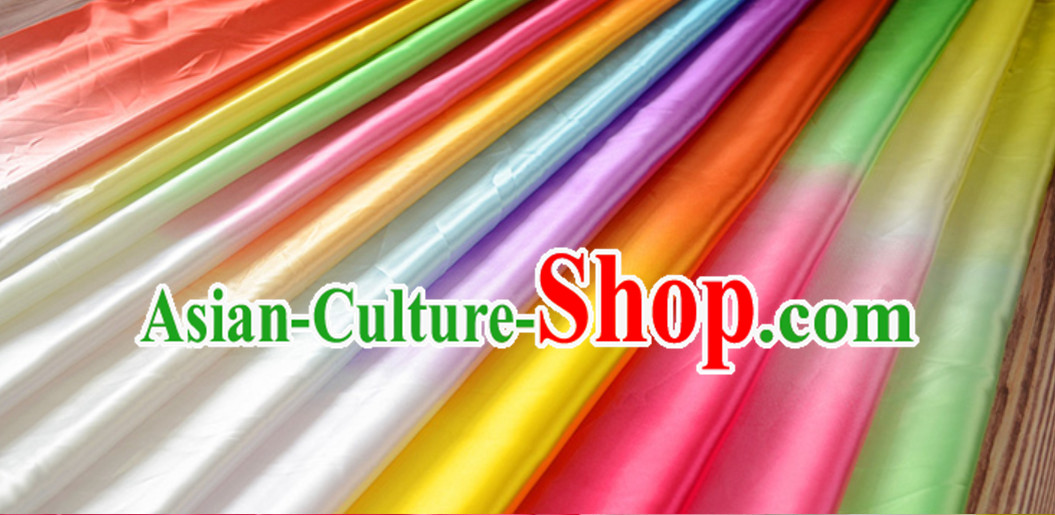 Chinese China Color Changing Fabric Color Transition Satin Fabric