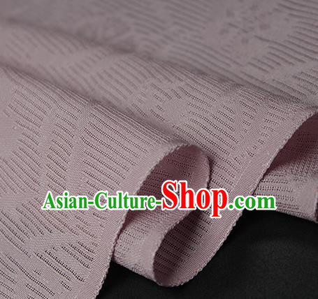Traditional Chinese Classical Orchid Pattern Pink Silk Fabric Ancient Hanfu Dress Silk Cloth