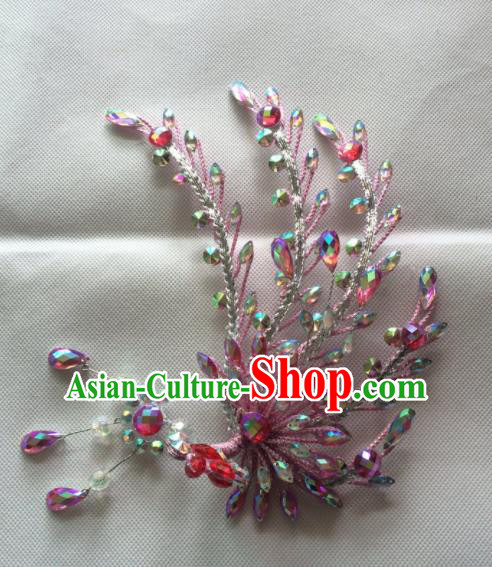 Chinese Beijing Opera Nobility Lady Phoenix Hairpins Traditional Peking Opera Diva Hair Accessories for Women
