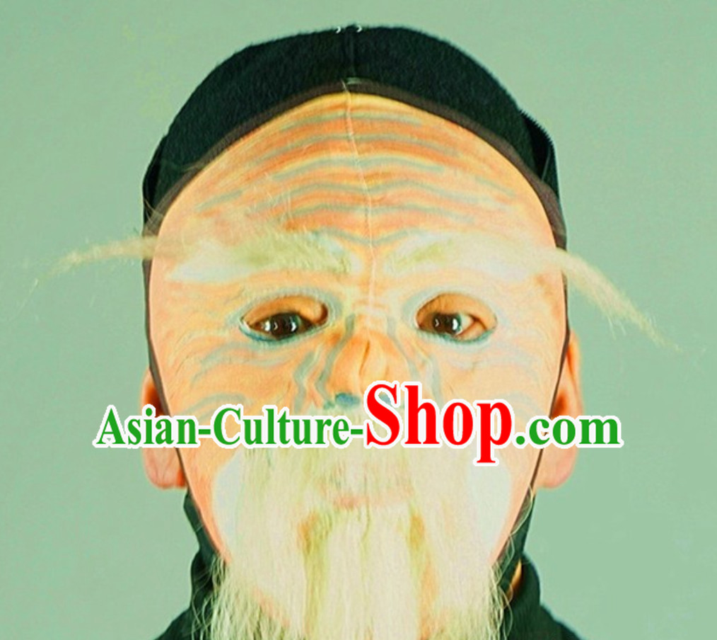 Top Handmade Long Beard Bian Lian Mask Mask Changing Mask Mask Change Mask