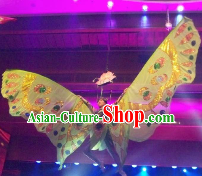 Chinese Back to Song Dynasty Classical Butterfly Dance Dress Stage Performance Costume for Women