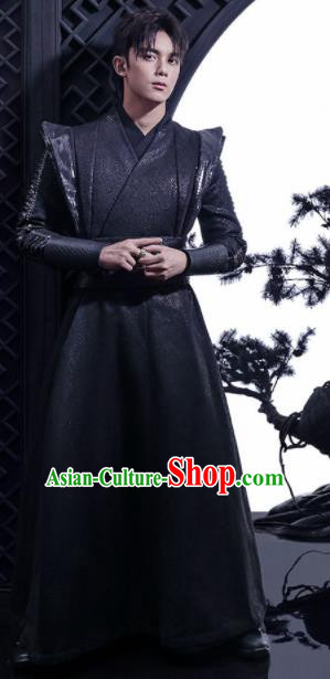 Chinese Drama Fights Break Sphere Ancient Swordsman Xiao Yan Wu Lei Costumes for Men