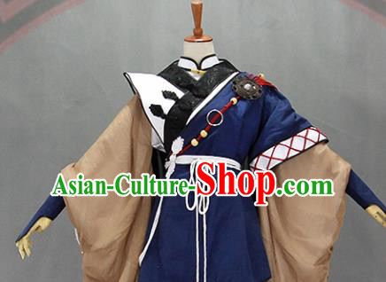 Customize Chinese Traditional Cosplay Young Knight Costumes Ancient Swordsman Clothing for Men
