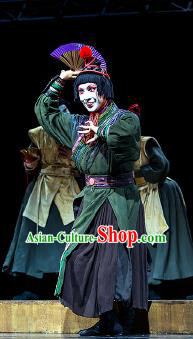 Chinese Drama Prince of Lanling Ancient Northern Dynasties Civilian Clothing Stage Performance Dance Costume for Men