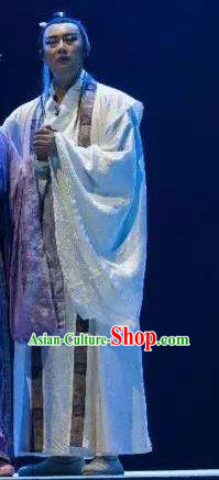 Chinese Drama Guangling Verse Ancient Jin Dynasty Nobility Childe Clothing Stage Performance Dance Costume for Men