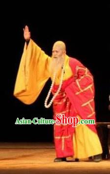Chinese Drama New Dragon Inn Ancient Monk Clothing Stage Performance Dance Costume for Men