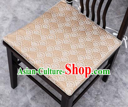 Traditional Chinese Cushion Classical Clouds Pattern Golden Brocade Cover Home Decoration Accessories