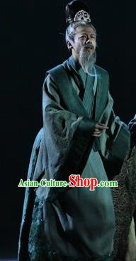 Chinese Zhaojun Chu Sai Dance Ancient Han Dynasty Civilian Clothing Stage Performance Dance Costume for Men