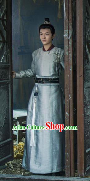 Young Blood Ancient Chinese Drama Song Dynasty Nobility Childe Swordsman Xue Ying Costumes for Men