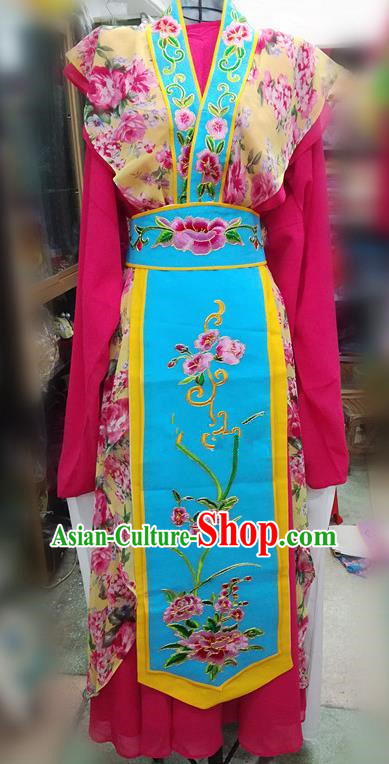 Chinese Traditional Beijing Opera Young Lady Dress Peking Opera Actress Water Sleeve Costume for Adults