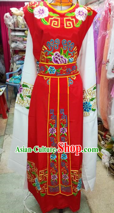 Chinese Traditional Beijing Opera Niche Costume Peking Opera Scholar Red Robe for Adults
