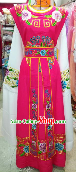 Chinese Traditional Beijing Opera Niche Costume Peking Opera Scholar Rosy Robe for Adults