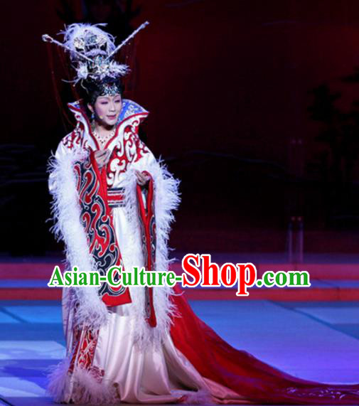 Traditional Chinese Ancient Spring and Autumn Period Imperial Concubine Xi Shi Historical Costume