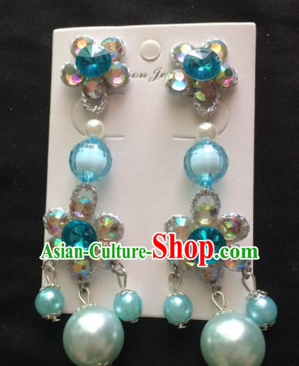 Asian Chinese Beijing Opera Jewelry Accessories Earrings for Women