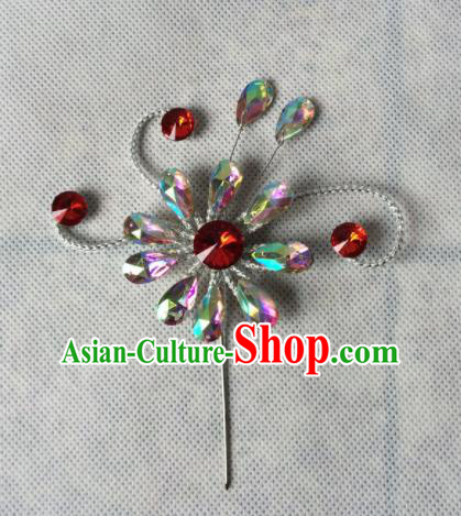 Asian Chinese Beijing Opera Hair Accessories Hair Clip Ancient Princess Hairpins for Women