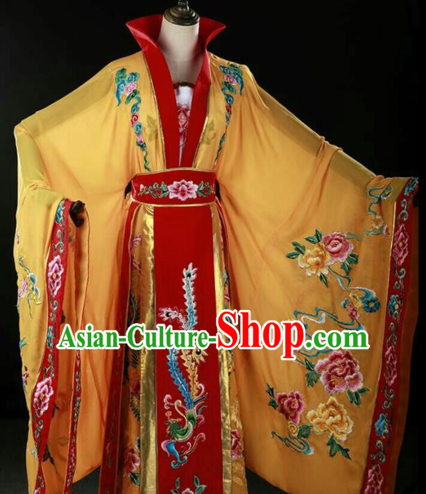 Traditional Chinese Beijing Opera Actress Costume Ancient Palace Queen Dress for Women