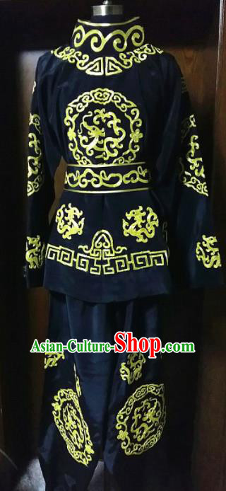 Traditional Chinese Beijing Opera Takefu Costume Sichuan Opera Changing Faces Clothing
