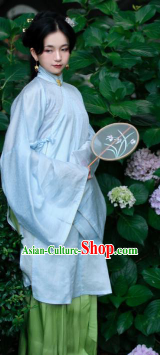 Chinese Ancient Hanfu Dress Traditional Ming Dynasty Palace Princess Historical Costume for Women