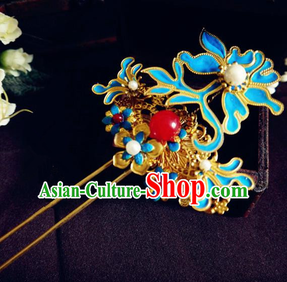 Chinese Ancient Princess Hair Accessories Palace Hair Clip Traditional Hanfu Classical Hairpins for Women