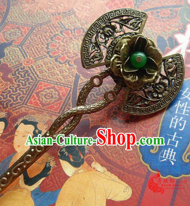 Chinese Ancient Hair Accessories Hairpins Traditional Hanfu Palace Hair Clip for Women