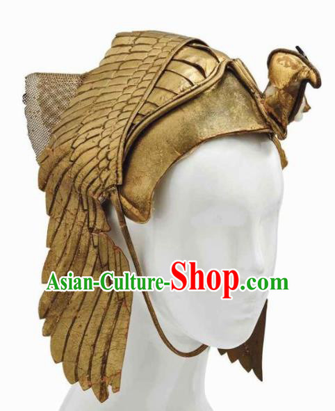 Traditional Egyptian Hair Accessories Ancient Egypt General Eagle Helmet for Men